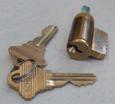 Schlage Key In Knob Or Lever Cylinder 606 Finish Sc1 Keyway New 2 Keys