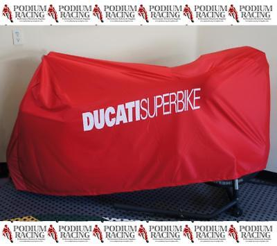 DUCATI 748 916 996 998 INDOOR BIKE COVER CUSTOM FITTED WITH SOFT -