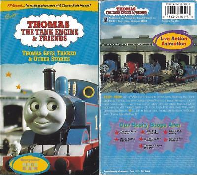 Rare Vintage Thomas Train Tank Engine Ringo Starr Thomas Gets Tricked VHS video