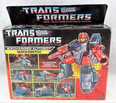 Transformers Original G1 1988 Multichanger Quickswitch Complete w/ Box
