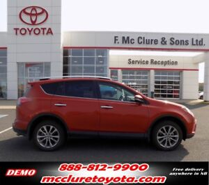 2016 Toyota RAV4 Limited WINTER TIRES INCLUDED