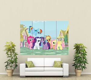 MY LITTLE PONY FRIENDSHIP IS MAGIC  HUGE GIANT ART PRINT PICTURE ST848