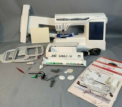 Husqvarna Viking Designer SE Sewing & Embroidery SERVICED Made in -