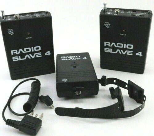 RADIO SLAVE 4 QUANTUM SET 2 Remote Control Receivers 1 Trigger Pre-Owned