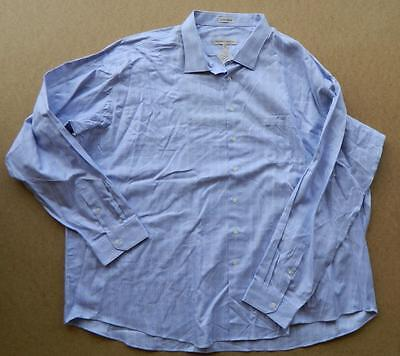 Nwt Pronto Uomo Mens 6Xl Blue Plaid L S Shirt From Mens Wearhouse 50  Off