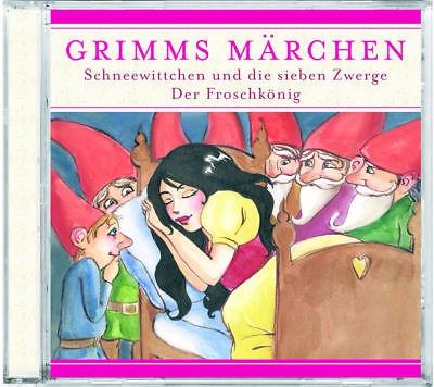 Grimms Märchen - Schneewittchen und die sieben Zwerge / Froschkönig - CD - *NEU* ()