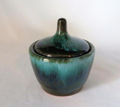 Blue Mountain Art Pottery Sugar Bowl with Lid Cover