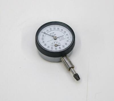 Mitutoyo 1350fb Metric Dial Indicator 2 Micron Graduation 1mm Range 6 Jewels