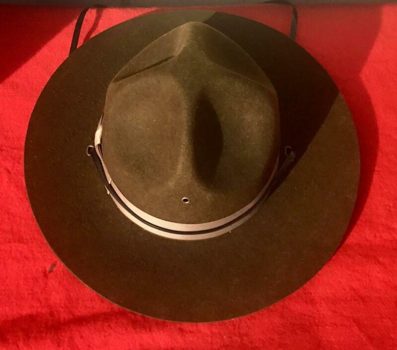 NEW RANGER SCOUT DRILL INSTRUCTOR CAMPAIGN HAT SIZE 7 1/4!