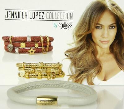 Pearl Single Wrap Bracelet - Jennifer Lopez ENDLESS Pearl Metallic Single Wrap Charm Bracelet Yellow Gold Cla