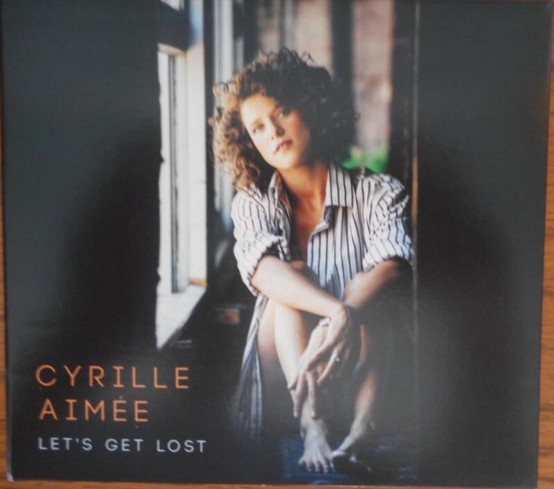 Signed CD from Cyrille Aimée titled Let's Get Lost Autographed  French Singer