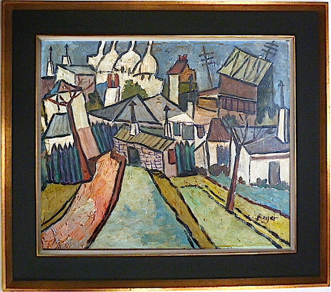 París Sacré - Corazón Expresionista Cubista Años 50 Firmado Bayer O Boyer Xx - bayer - ebay.es