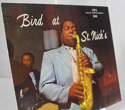 Bird at St. Nick's...Charlie Parker...Jazz WorkShop...OJC 041