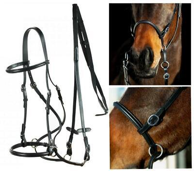 """60/"""" Long Silver Fox Extra Long Raised Laced Reins for English Bridles"""