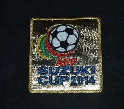 Suzuki Cup 2014 Champions Patch/Badge for football shirt AFF Singapore image