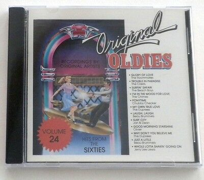 Sealed Original Oldies Volume 24 Hits From The Sixties Cd Compilation