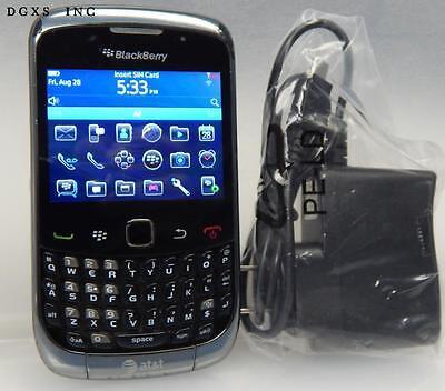 Unlocked Blackberry Curve 9300 AT&T Cell Phone Any GSM SIM Card Tigo Claro