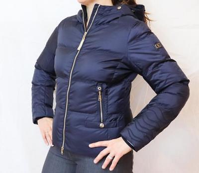 Купить Bogner Cora-D - NEW BOGNER CORA-D DOWN JACKET Women's Navy Blue Puffy Ski Coat w/Gold Accents