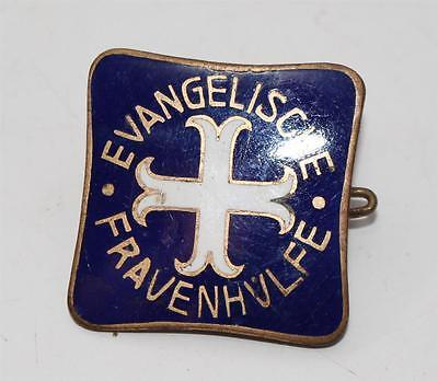 altes Abzeichen emailiert, Evangelische Frauenhilfe, Paul Klee Potsdam  #F857