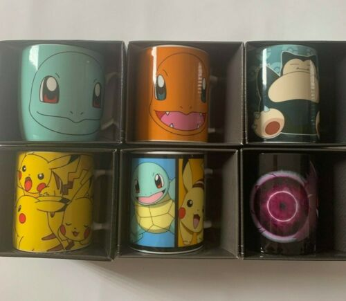 Brand New Pokemon Coffee Mug 330ML Choose Your Pokémon Pikachu Squirtle Snorlax