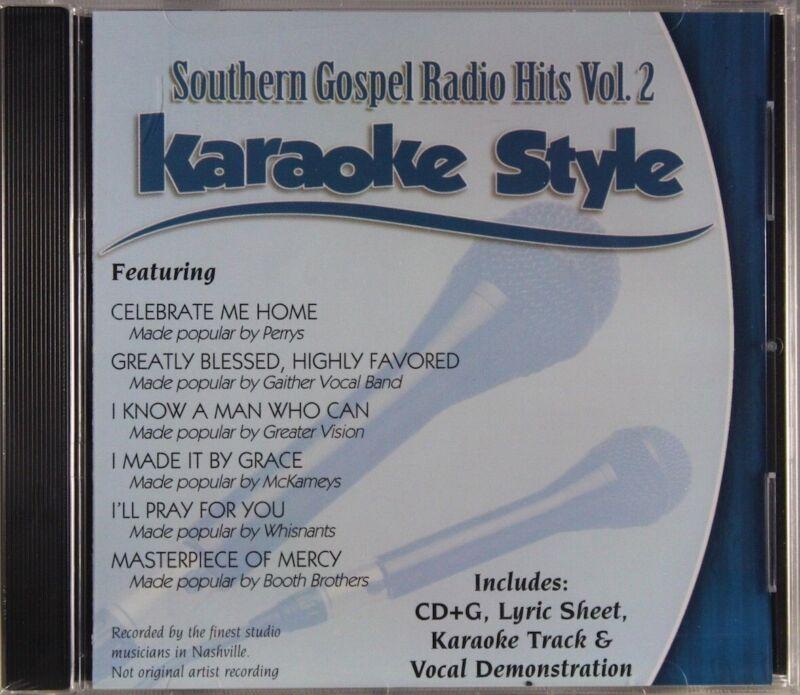 Southern Gospel Radio Hits Volume 2 Christian Karaoke NEW CD+G Daywind 6 Songs