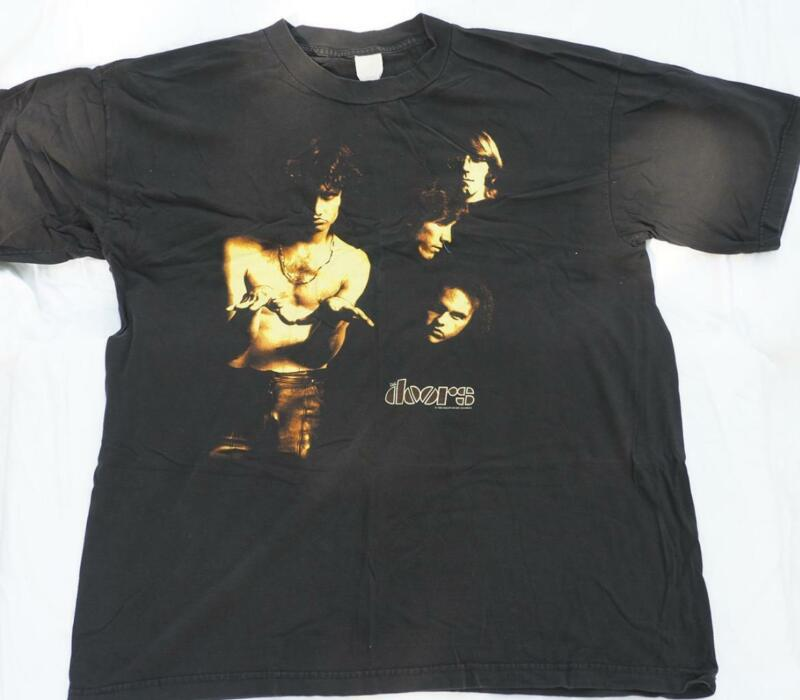 Vtg The Doors Jim Morrison 1999 Crew Neck T Shirt Size XL