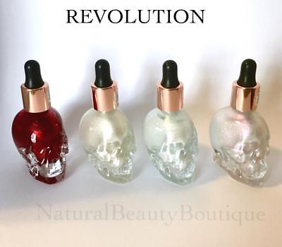 REVOLUTION SFX Makeup HAUNTED SKULL Liquid HIGHLIGHTER Halloween Goth Zombie](Halloween Makeup Skulls)