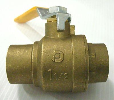 Watts Regulator Fbvs-3c Brass Ball Valve 1-12 Full Port 600 Water Oil Gas