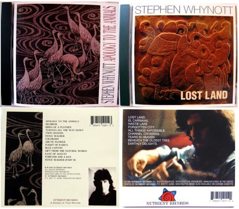New Unopened Box Set By Award Winning Singer/Songwriter/Musician Stephen Whynott