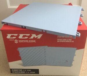 20 CCM HOCKEY Shooting Stickhandling DRYLAND Training Floor Tiles - BRAND NEW