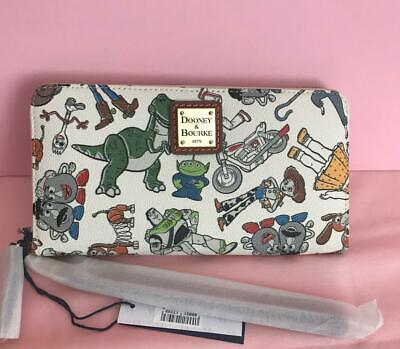 Disney Dooney & Bourke Toy Story 4 Wallet Receive This Placement NWT