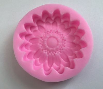 Sunflower Cake Decorations (Sunflower Flower Silicone Mold Fondant Mat Cake Decorating Cupcake)