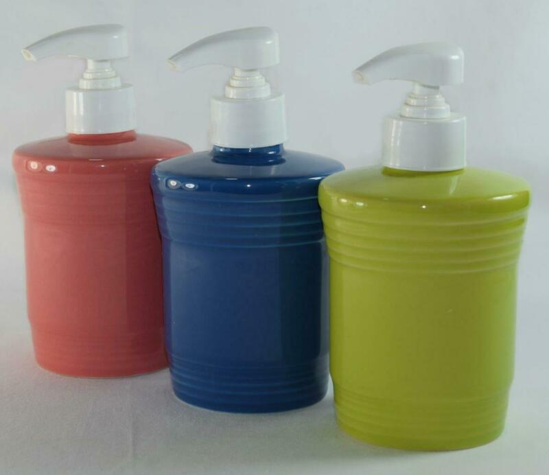 Fiesta® SOAP / LOTION Dispenser - Discontinued Item - Choice of Colors