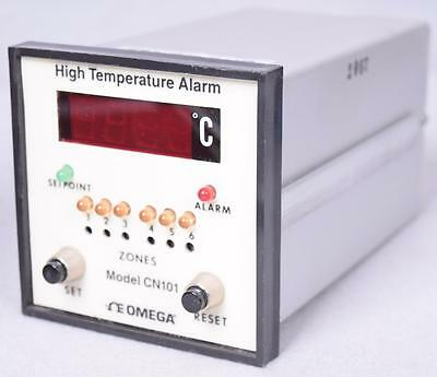 Omega Cn101 High Temperature Alarm Working Panel Meter