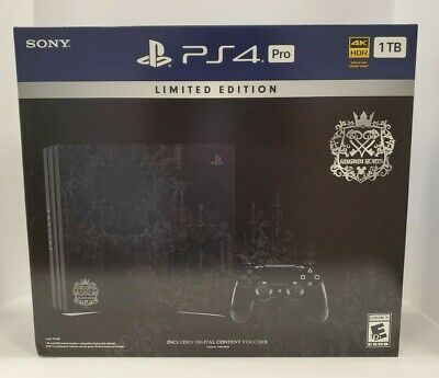 Kingdom Hearts 3 PS4 PRO 1TB Limited Edition Console USA VERSION NEW SHIPS TODAY
