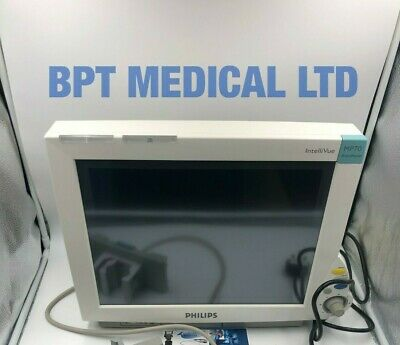 Philips Mp70 Patient Monitor Intellivue Anesthesia Touch Screen