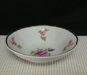 SONATA Bernadotte DESSERT FRUIT BOWL (s) Porcelain Czechoslovakia RED MARK Sauce