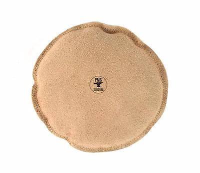 """5"""" ROUND LEATHER SANDBAG JEWELRY DAPPING STAMPING CHASING FORMING BENCH ANVIL"""
