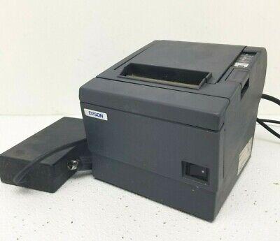 Epson Tm-t88iii Pos Point Of Sale Thermal Usb Receipt Printer M129c Wpower Adap