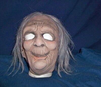 OLD WRINKLED MA GRANDMA OLD LADY MASK COSTUME NEW DU108 (Old Lady Mask)