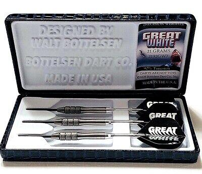 Great White Bottelsen Fixed Point Steel Tip Dart 2342GW9