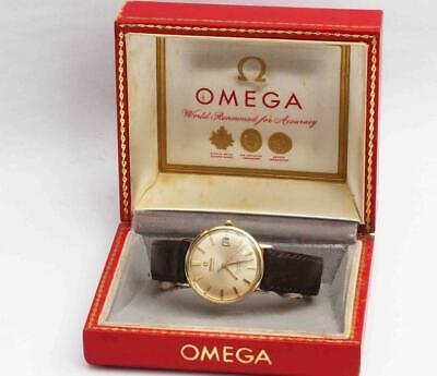 vintage OMEGA SEAMASTER DE VILLE Automatic Mens Wristwatch w/ Original Box