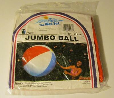 Jumbo Beach Ball 48 (VINTAGE New Intex INFLATABLE JUMBO 48