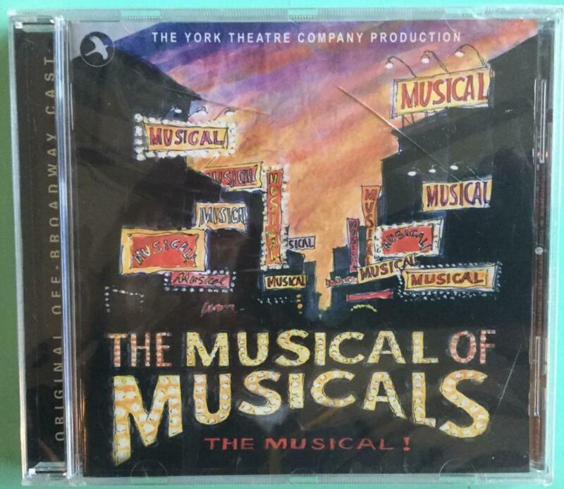 The Musical of Musicals CD Eric Rockwell Joanne B Still Sealed Crack in the Case