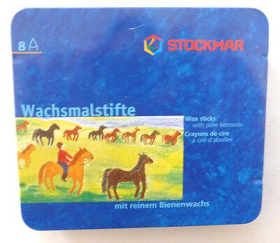 STOCKMAR 8 Stück Wachsmalstifte Bienenwachs