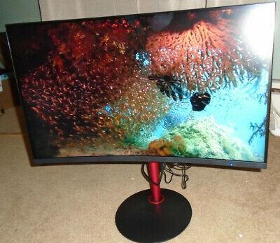 "Acer Nitro XZ2 27"" XZ272 Gaming Computer Monitor Black & Red"