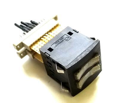 Crouzet 84211 Rocker Selector Switch Panel Mount 250 V