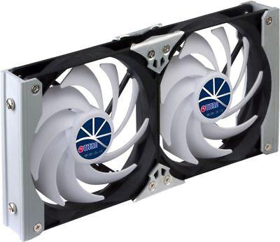 Kühlschrank-Doppellüfter Titan 12-24Volt 92mm Durchmesser