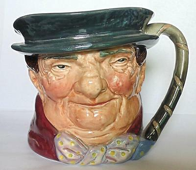 ROYAL DOULTON LARGE CHARACTER JUG TONY WELLER D5531