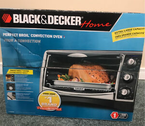 Black & Decker perfect broil convection oven NEVER USED